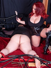 Jemstone Gives Charlie Ass Torture With Floggers And Candles