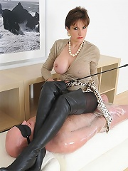 Dominant In Boots