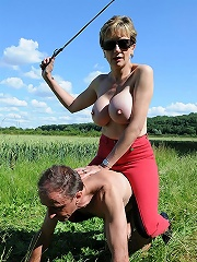 Busty Riding Domme